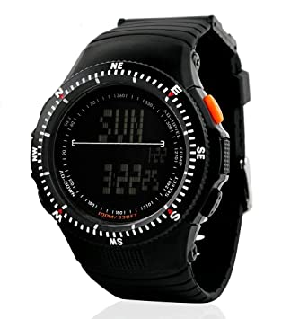 zonman army military multi function dual time amazon co uk zonman army military multi function dual time waterproof and shockproof men s fashion electronic sports watches