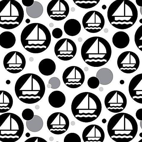 Rouleau de papier cadeau Motif papier cadeau premium–Voile Bateau Sailing Sail Boating