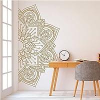 Mandala En Demi Vinyle Sticker Mandala Art Décalque Amovible Yoga Décor Master Chambre Stickers Boho Bohème Décoration…
