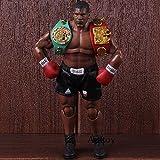Yvonnezhang Roi de la Boxe Mike Tyson Figure Boxer avec 3 Sculpts de la tête à l'échelle 1/12 Action Figure Storm Collectibles Modèle Jouet