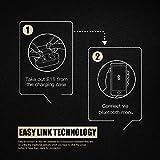 ENACFIRE E18 Wireless Headphones, Bluetooth Headphones 15H Playtime 3D Stereo Sound Bluetooth 5.0 True Wireless Earphones with Mic, Wireless Earbuds with Portable Charging Case