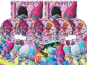 DreamWorks bpwfa-64trols Party Set de vajilla para 8personas