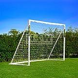Net World Sports Forza - 2,4 x 1,8 m wetterfestes Fußballtor Abnehmbarer Torwand bestellbar (Forzator 2.4x1.8m)