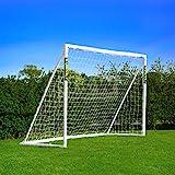 FORZA - wetterfestes Fußballtor 2,4 x 1,8 m [Net World Sports] (1. Forza Klicktor 2.4 x 1.8m)
