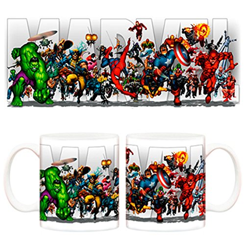 Taza Marvel Superhéroes