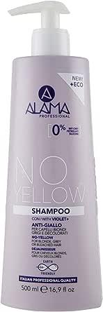 Alama Professional No-Yellow Shampoo, 500ml