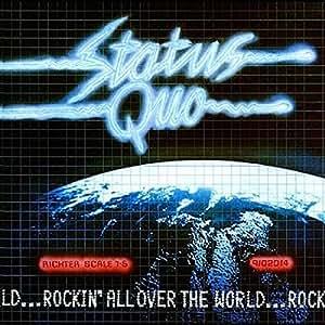 ROCKIN ALL OVER THE WORLD VINYL LP STATUS QUO 1977[9102014-1]
