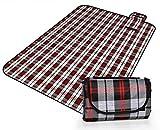 Honeystore 200*150 Oxford Yoga Matte Strand Ausflug Picknickdecke mit wasserabweisender Unterseite A08