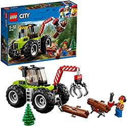 Lego City - Great Vehicles Trattore Forestale,, 60181