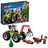 LEGO City - Le tracteur forestier - 60181 - Jeu de Construction