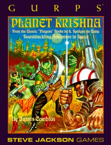 GURPS: Planet Krishna (GURPS: Generic Universal Role Playing System)