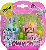 Pinypon Pack 2 mascotas, conejo y oveja. (Famosa) (700012732)
