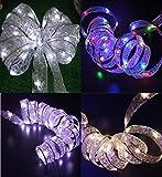 ✽ZEZKT-Home✽ LED Lichterkette warmweiß Innen Draht für die perfekte Dekoration Globe String Licht Sternenlicht Innen Außen Deko Glühbirne Weihnachten Hochzeit Party (Gelb)