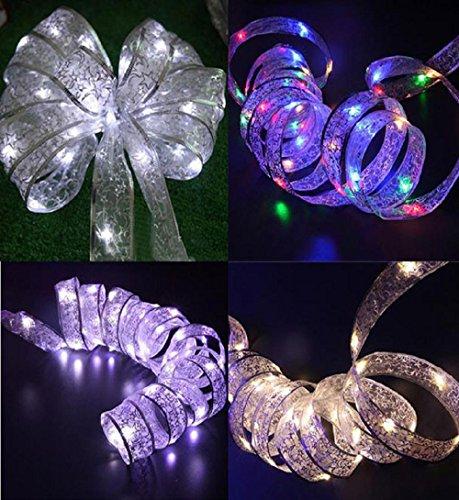 ✽ZEZKT-Home✽ LED Lichterkette warmweiß Innen Draht für die perfekte Dekoration Globe String Licht Sternenlicht Innen Außen Deko Glühbirne Weihnachten Hochzeit Party (Weiß)