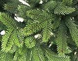 Spritzguss Weihnachtsbaum künstlich 210cm in Premium Spritzguß Qualität, grüne Nordmanntanne, künstlicher Tannenbaum mit PE Kunststoff Nadeln, wie echt wirkend, Nordmannstanne Christbaum - 2