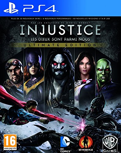 Warner Bros. Injustice, Gods Among Us (goty Edition) PS4