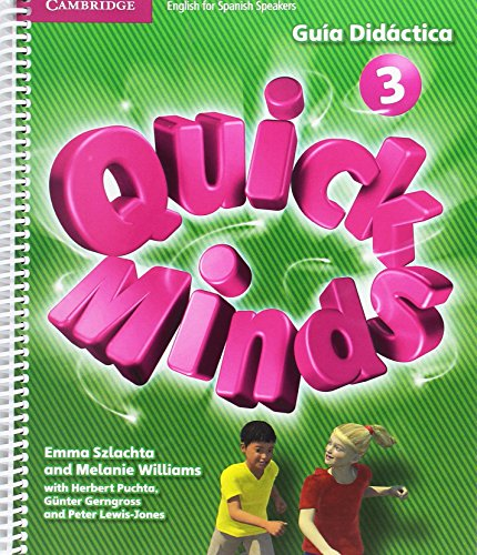 Quick Minds Level 3 Guía Didáctica - 9788490364581