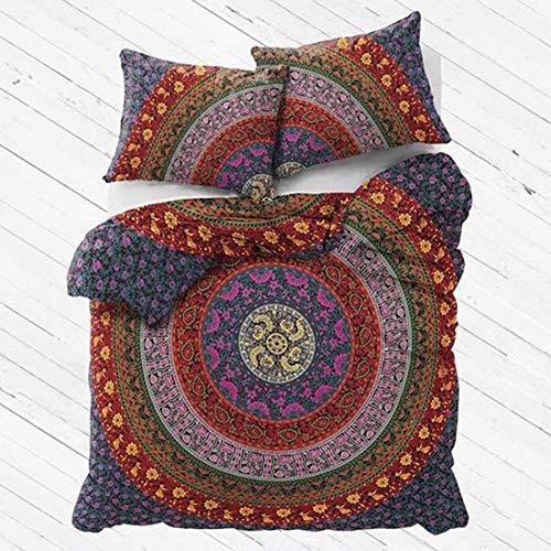 Indian Handicrafts Export Magical Night Urban Duvet Covet Set with Matching Pillows - Urban Duvet-set