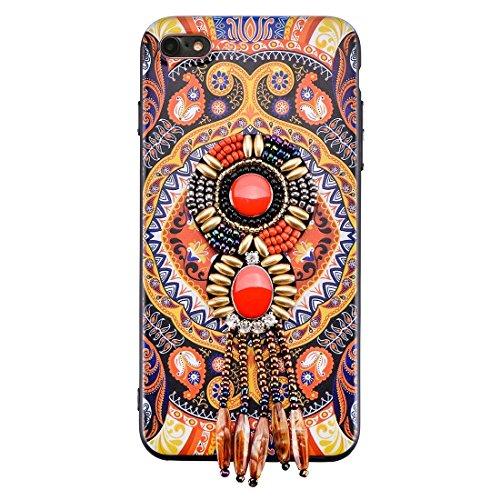 Wkae Retro Ethnischer Art-schützender rückseitiger Abdeckungs-Fall für iPhone 6 Plus u. 6s Plus ( SKU : Ip6p6676e ) Ip6p6676d