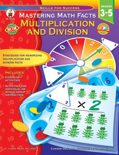 Mastering Math Facts, Grades 3 - 5: Multiplication and Division (Skills for Success) (Grade Halloween Math 3)