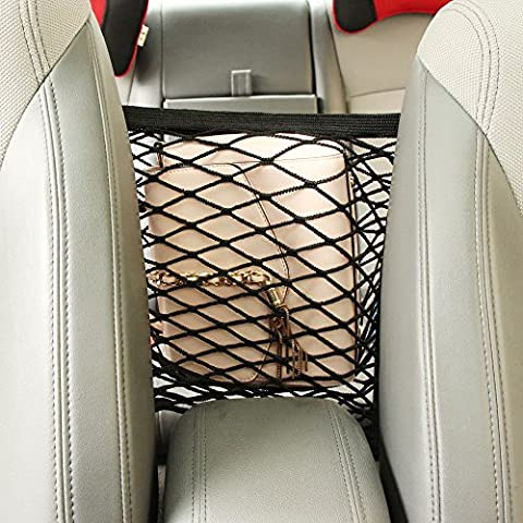 Universal Nylon Car Truck Storage Luggage Hooks Hanging Organizer Holder Seat Bag Mesh Net-