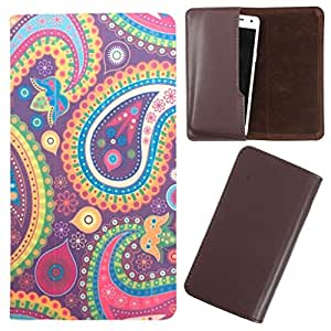 DooDa - For Micromax Canvas Power A96 PU Leather Designer Fashionable Fancy Case Cover Pouch With Smooth Inner Velvet