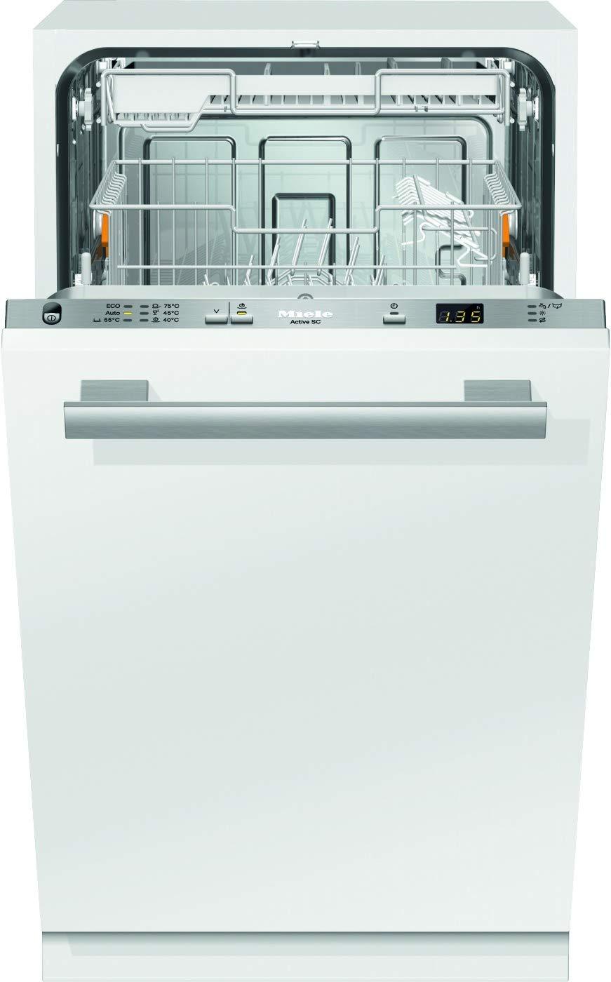 Miele G4680 SCVi Active Geschirrspüler Vollintegriert/A+ / 221 kWh/Jahr / 2940 L/Jahr/edelstahl/Besteckschublade