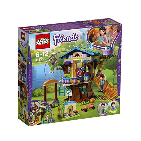 LEGO- Friends La Casa sull'Albero di Mia Set di Costruzioni Ricco di Particolari, con Mini Doll di Mia e Daniel, per… 1 spesavip