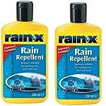 RainX Rain Repellant 200ml TWIN PACK...