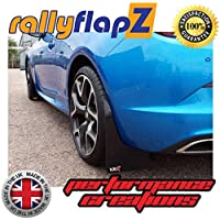 rallyflapZ Guardabarros para GTC VXR (2012 en adelante) Negro 3mm PVC