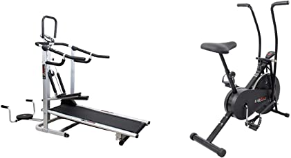 LIFELINE FITNESS COMBO 4 IN 1 DELUXE TREADMIL AND AIRBIKE 103