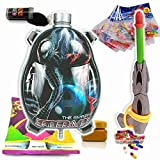 #2: Godofsale Holi Pressure Water Gun Pichkari with Back Pack Tank Squirter In Kids Favourite Characters - Size 1.5 ltrs ( Spider Man) + 200 Balloon,1 Pack OF Color Capsule, 1 Chandan, 2 holi color and 1 Gulal Free