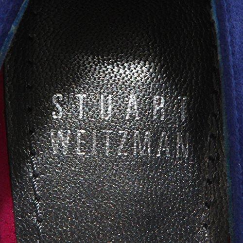86082 decollete spuntato STUART WEITZMAN VAMP scarpa donna shoes women Blu