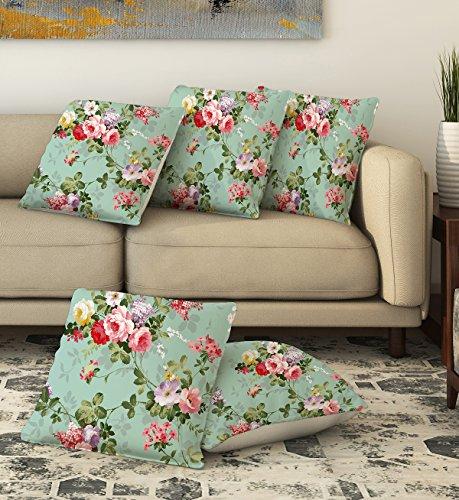 LA VERVE COTTON Printed Cushion cover