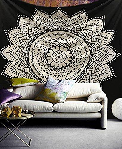 Exclusivo tapiz Raajsee con diseño de mándala
