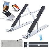 dodocool Supporto PC Portatile, 6 Livelli Angolazione Supporto Laptop, Supporto Notebook Alluminio, Raffreddamento Regolabile