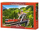 Castorland B-52462 Puzzle Train on The Bridge, 500 Teile