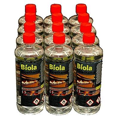 12 x 1 litre Bioethanol Fuel