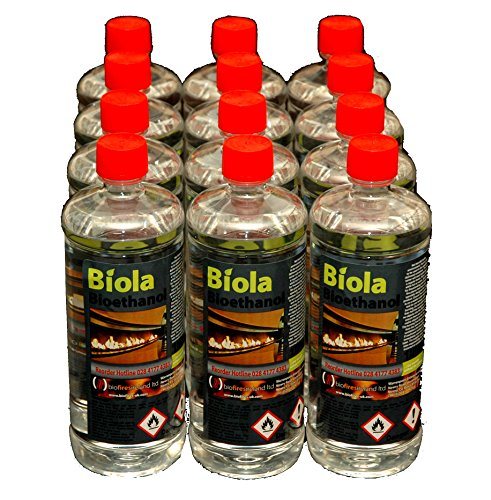 12L BIOETHANOL SUPERIOR FUEL UK & IRELAND. For use in fires & stoves.