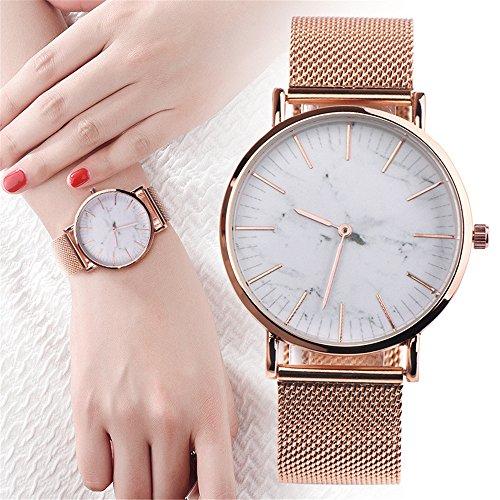 e9aada63d7 SamMoSon Unisex Armbanduhr Damen Herren Uhr Analog Quarz Uhren Mode ...