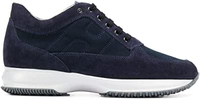Hogan Luxury Fashion Uomo HXM00N00E108O6U801 Blu Pelle Sneakers | Autunno-Inverno 20