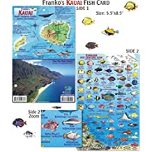Franko Maps Kauai Reef Creatures Fish ID for Scuba Divers and Snorkelers