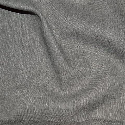Tissu lin gris - 100% lin gris - qualité supérieure (par multiple de 20cm)