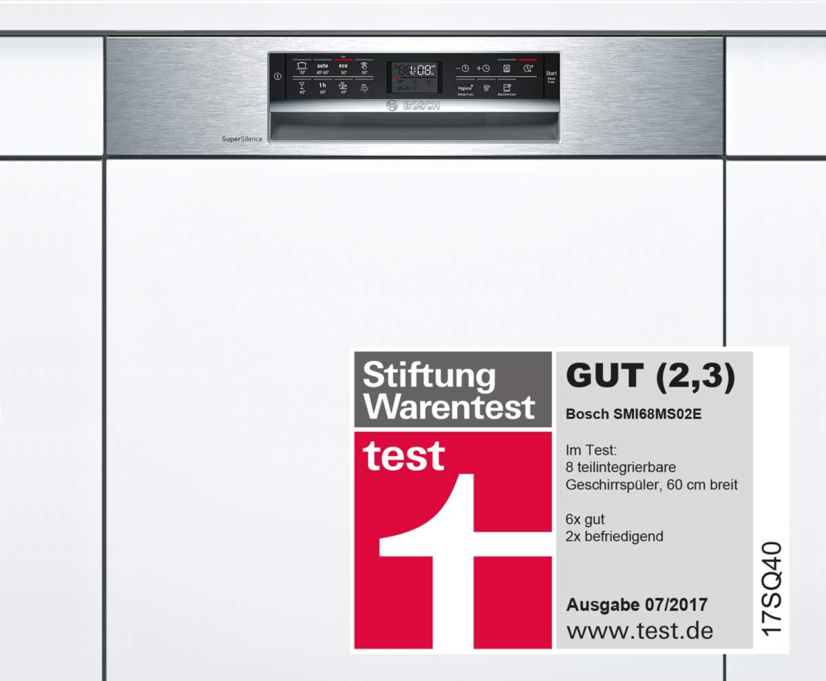 Bosch SMU68MS02E Geschirrspüler / 1,7 cm/ A++ / 266 kWh/Jahr / 2660 L/Jahr