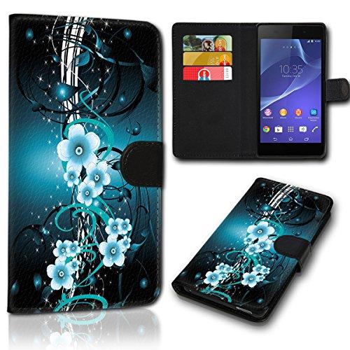 sw-mobile-shop Book Style Wiko Sunny 2 Plus Tasche Flip Brieftasche Handy Hülle Kartenfächer für Wiko Sunny 2 Plus - Design Flip SVH1173