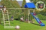 Gartenpirat Spielturm Premium XL mit Schaukel und Sandkasten