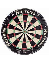 Harrows Official Competition - Diana de dardos (45cm), color negro