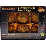 6 Onion Bhajee Scotch Eggs