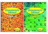 Kreuzworträtsel - in Großdruck - je Heft 128 Seiten - weisses Papier: Band 10 + Band 11