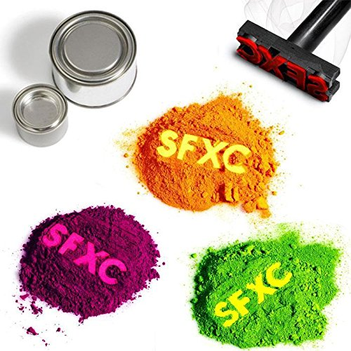 Farbwechsel Thermochromisch Pigment Probepackung-Farbe zu Farbe -